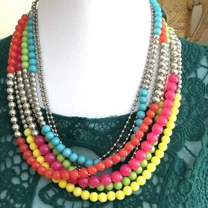 2/$20 Multi Strand Beaded Necklace *L2N*